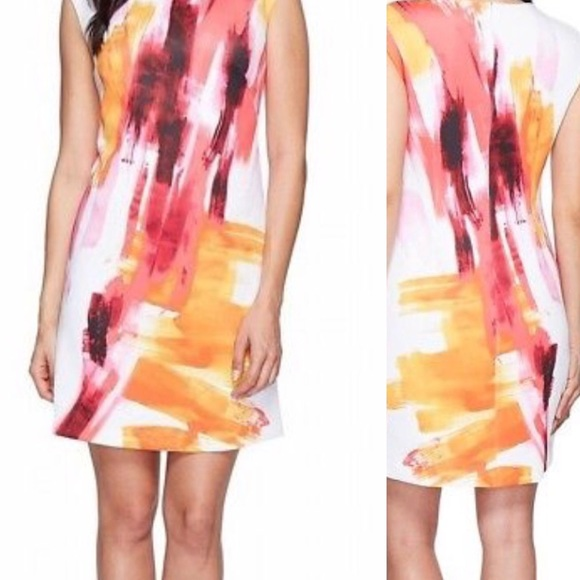 Calvin Klein Dresses & Skirts - NWT Calvin Klein Watercolor Dress