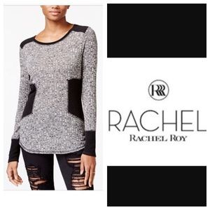 Rachel Roy Colorblocked Sweater