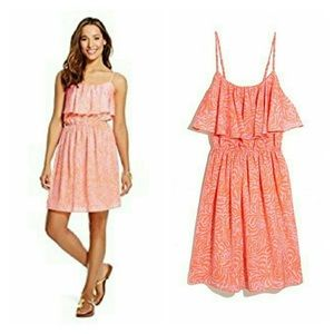 Lilly Pulitzer NWT peach and orange sun dress
