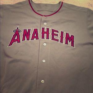 "9bd14726c96 Majestic Other - Anaheim Angels RARE 2002 ""Anaheim"" Road Jersey"