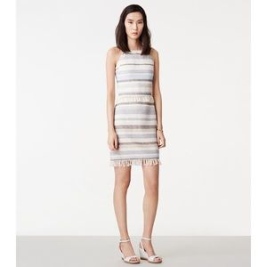 BNWT Tory Burch Jane Stripe Cotton Sheath Dress