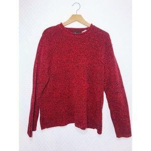 Vintage • Women's Marled Sweater • XL • Sag Harbor