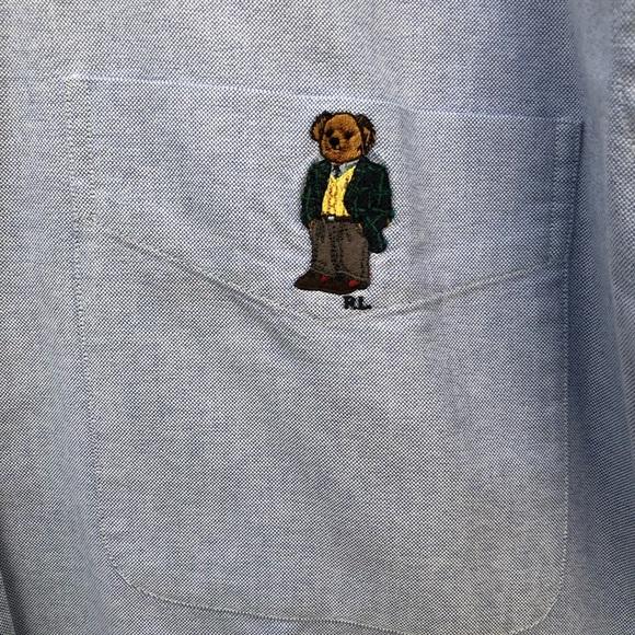 d32704369 Polo by Ralph Lauren Shirts | Ralph Lauren Polo Bear Oxford Shirt Ml ...