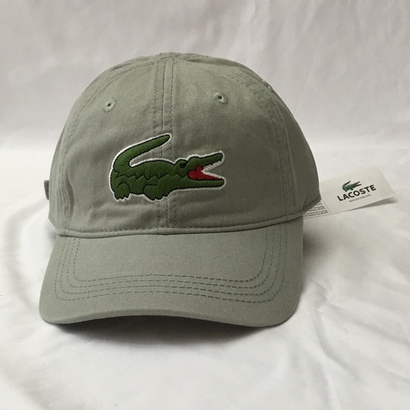 bc3bd84884da Lacoste Accessories | Washed Army Green Baseball Hat | Poshmark