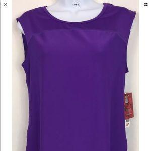 New Balance purple sleeveless top Sz small NWT