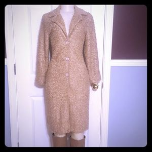 Jackets & Blazers - Cute faux fur pea coat