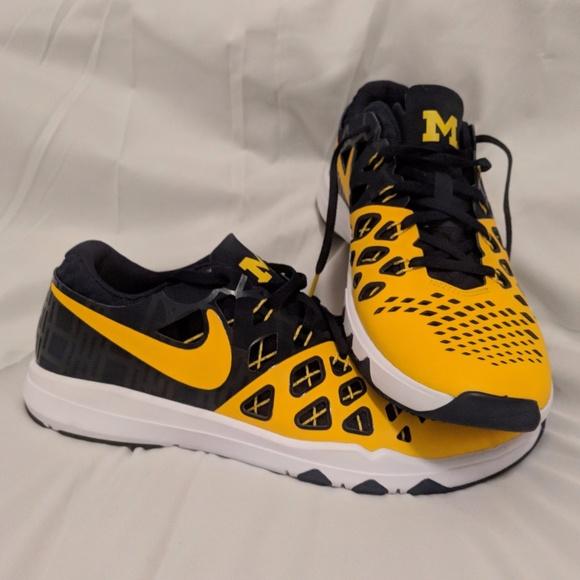 Train Nike Wolverines schoenen Sz Speed Flyknit Michigan 10 Poshmark Frq1Ir