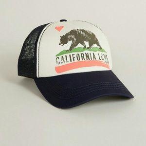 *California  Love *Women's  Mesh Snapback Cap