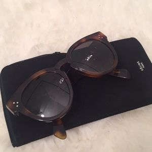 f131faa80e15 Celine Accessories - Celine Thin Preppy Sunglasses CL 41049 S