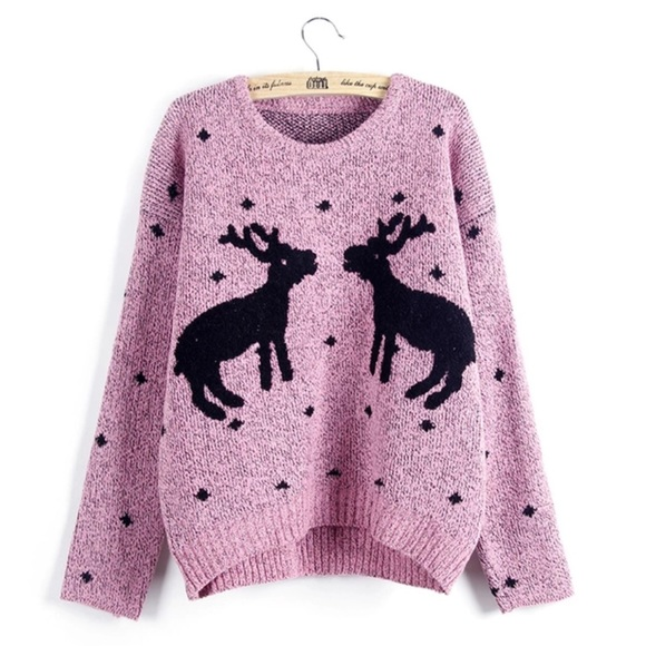 56% off Sweaters - Cotton Reindeer Holiday Sweater from ✨vera's ...