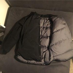Jackets & Blazers - Black/Gray Puff Jacket reversible 2 ways MSRP $160