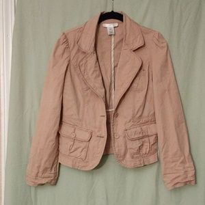 White House Black Market khaki jacket