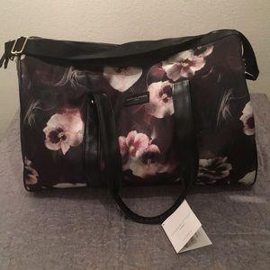 Adrienne Vittadini Nylon Duffle Bag