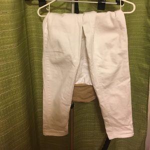 White Jessica Simpson Maternity Jeans