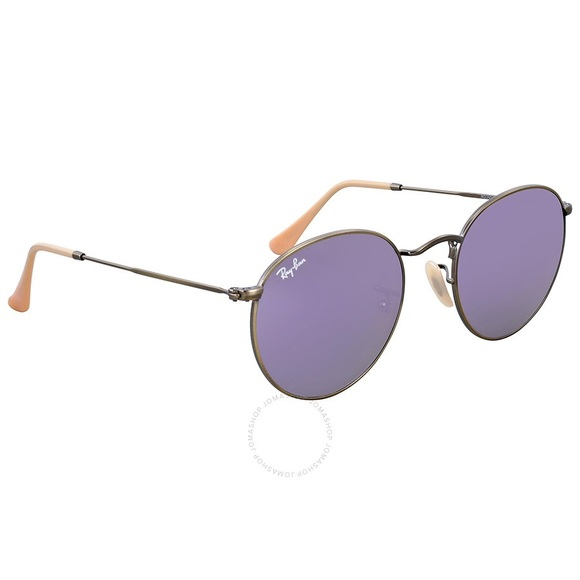 9c1633bbaace Ray-Ban Accessories - Ray-Ban Round Bronze Copper Frame Lilac Flash-