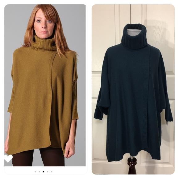 Diane von Furstenberg Ahiga Poncho Sweater