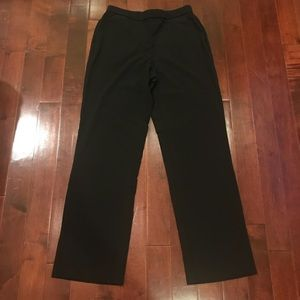 Dana Buchman Black Stretchy Dress Work Pants
