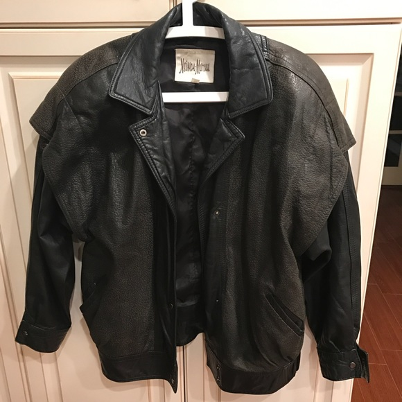 VIntage Women's Neiman Marcus Leather Jacket