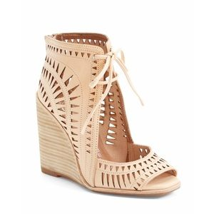 Jeffrey  Campbell wedges from anthropologie