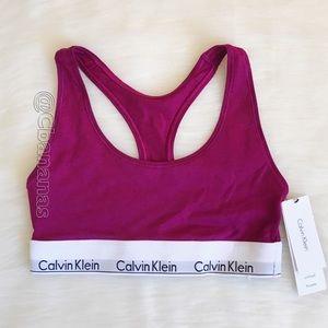 Unique Purple-ish Racerback Calvin Klein Bra