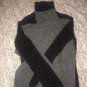 Woman turtleneck sweater