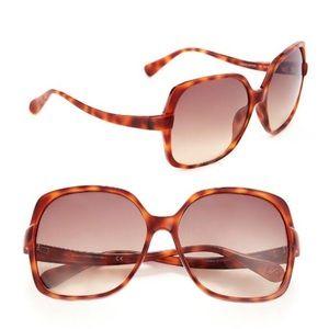 Diane Von Furstenberg jazmine oversized glasses