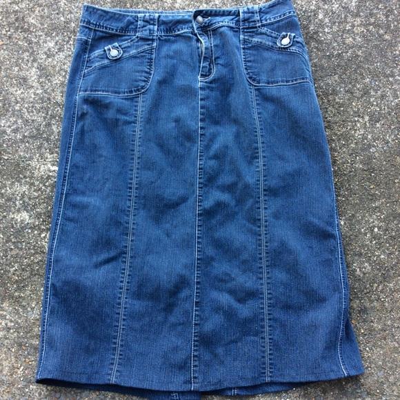 ff23710b06b06 Cato Dresses   Skirts - Women s CATO Denim Blue Jean Skirt ...