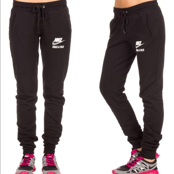fc8aac373338 Women s Nike track and field joggers. M 5a23762b7f0a05e998061d4b. Other  Pants ...