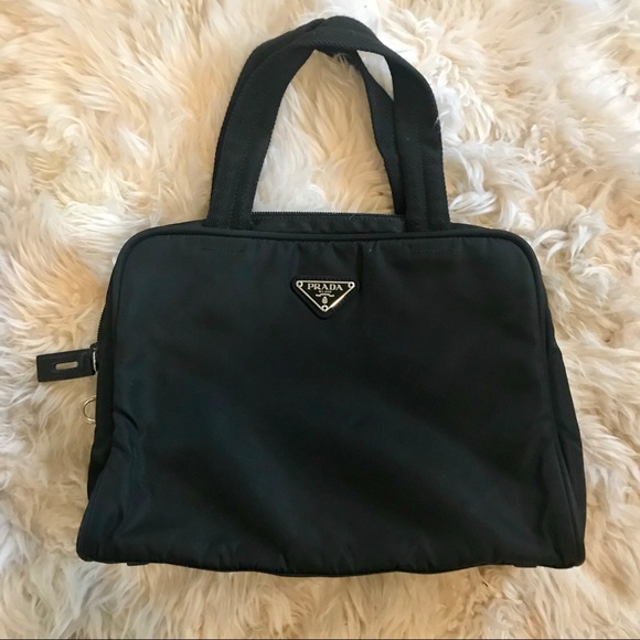 8eb333bbc13f Authentic Prada black nylon bag. M 5a2377166d64bcde340630c6