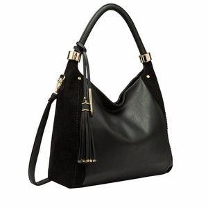Melie Bianco Rumi Large Tassel Women's Hobo Bag