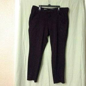 Nine West black stretch pants