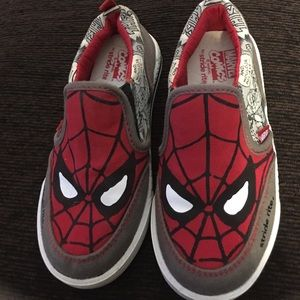 Marvel stride rite boys 10.5M Spider-Man sneakers
