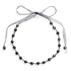 NEW Chan Luu Hematite Ribbon Choker