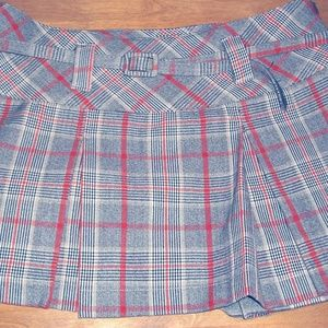 CANDIE'S PLAID PLEATED MINI SKIRT SIZE 1!