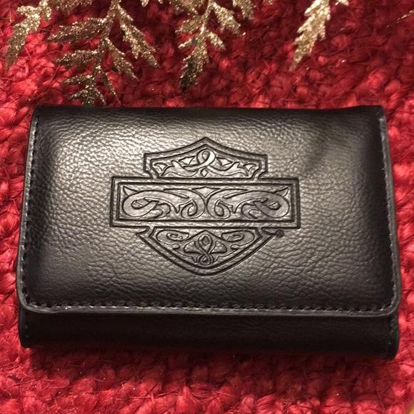 Harley Davidson Tri-Fold Wallet. New. c7c26ffad5