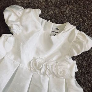 White Carters Dress!
