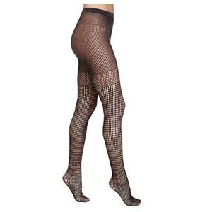 NWT WOLFORD BASTILLE NET TIGHTS PANTYHOSE