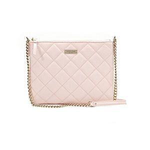 Kate Spade Gold Coast Ginnie Leather Crossbody Bag