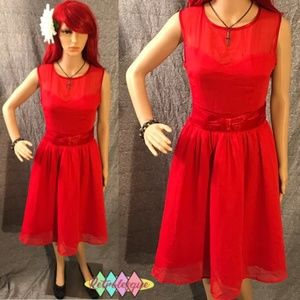2f8a693c8a2 ... Red Swing Audrey Swing Dress- NWT