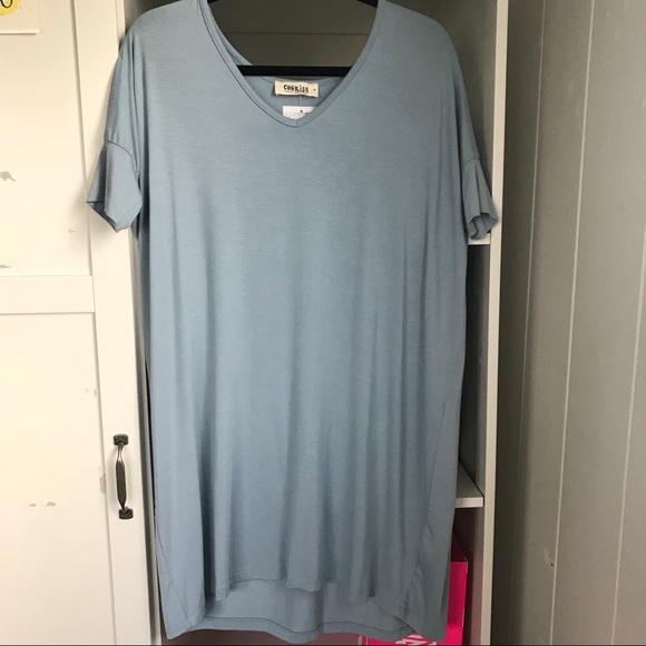 Dresses & Skirts - Light blue slouchy dress