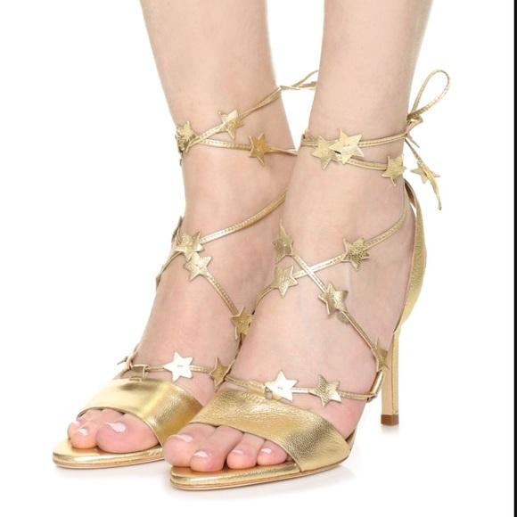 cbf90a988ad Loeffler Randall Shoes - NWOB Loeffler Randall Arielle Gold Metallic Heels
