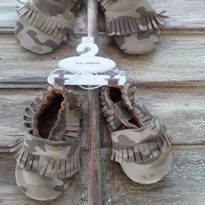 Camouflage Moccasins (3 sizes-$5 per each size)