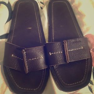Prada leather vintage sandals