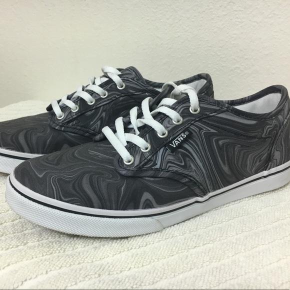 7329c88127 Vans Womens Sneakers - gray white swirl. M 5a23a3234e8d17544206be09