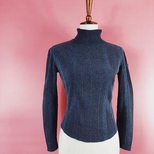 90s Tommy Hilfiger Sweater Cropped Turtleneck M