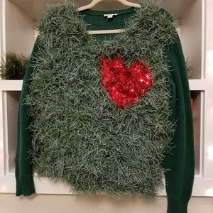 light up grinch ugly christmas sweater size lxl - Grinch Ugly Christmas Sweater