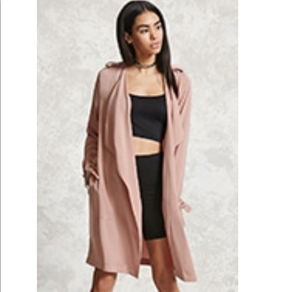 23% off Forever 21 Sweaters - F21 Long Waterfall Cardigan from ...