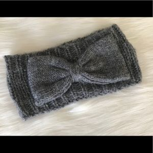 Bow Headwrap Grey