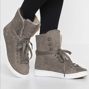Ugg Starlyn High Top Sneakers Mouse