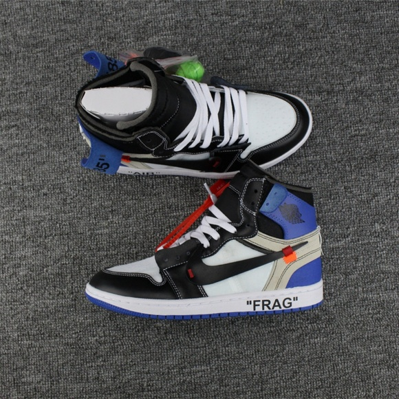 dae970cf4791 Air Jordan Other - OFF-WHITE x Air Jordan 1 x fragment design